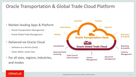 Thumbnail for entry Get Ahead with Oracle Cloud ERP - Global Trade Management