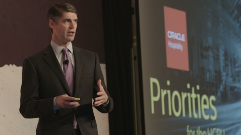 Thumbnail for entry Oracle Hospitality Connect AMERICAS 2020: Keynote Reimagine Hospitality