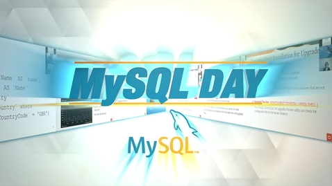 Thumbnail for entry Transforming Your Application with MySQL 8.0