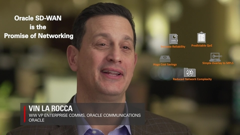 Thumbnail for entry SD-WAN Promise of Networking