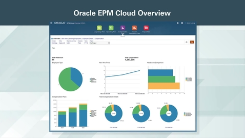 Thumbnail for entry Oracle EPM Cloud Overview