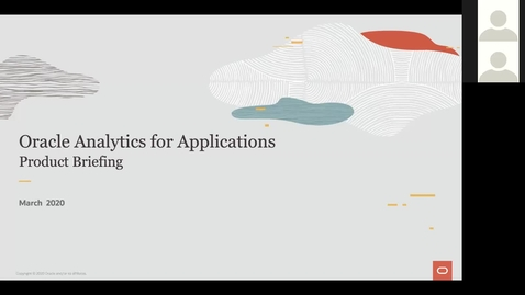 Thumbnail for entry Oracle Analytics for Application Partner Product Update