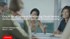 Thumbnail for entry Optimize Inventory with Next Generation Retail Demand Forecasting Cloud Service