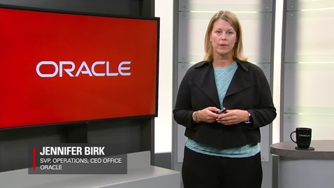 Thumbnail for entry Transforming the Sales Rep Experience at Oracle - Short
