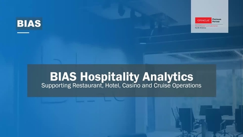 Thumbnail for entry BIAS 2020 Hospitality Analytics Overview