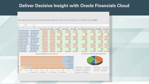 Thumbnail for entry Deliver Decisive Insight with Oracle Financials Cloud
