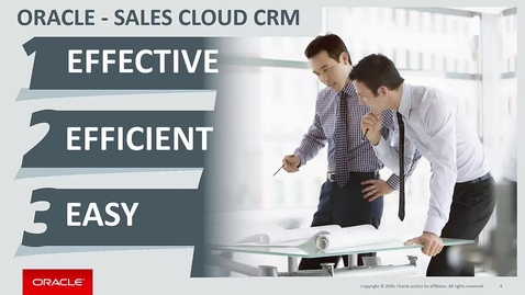 Thumbnail for entry Get Going with Oracle Sales Cloud