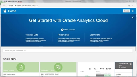 Manipulando Dados no Oracle Analytics Cloud