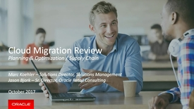 Thumbnail for entry Create Capacity to Drive New Innovation: Migrate Your Current Oracle Retail Planning & Optimization Capabilities to the Cloud