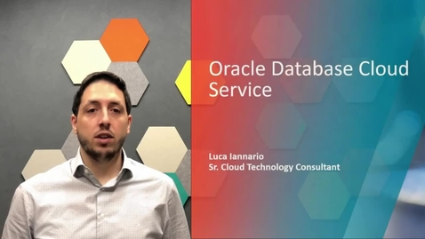 Thumbnail for entry Oracle DBaaS Database Cloud Service - English version