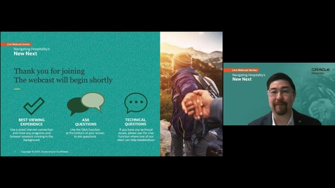 Thumbnail for entry Navigating Hospitality's New Next: Create A Touchless Hotel Guest Experience | JAPAC Webcast | August 12, 2020