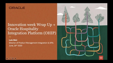 Thumbnail for entry Introducing Oracle Hospitality Integration Platform and Wrapping Up Innovation Week