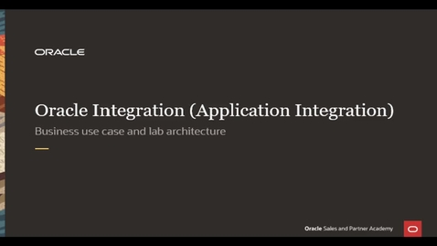 Thumbnail for entry Integration Lab - Business Use Case