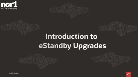 Thumbnail for entry Introduction to eStandby Upgrades