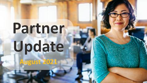 Thumbnail for entry Cloud Platform Partner YouTube Update August 2021