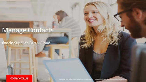 Thumbnail for entry Manage Contacts
