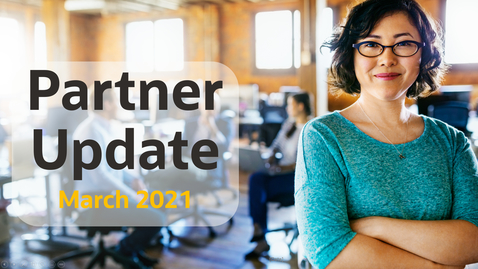 Thumbnail for entry Cloud Platform Partner Update #72 March 2021