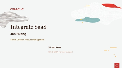 Thumbnail for entry Integrate SaaS PaaS Partner Community Webcast
