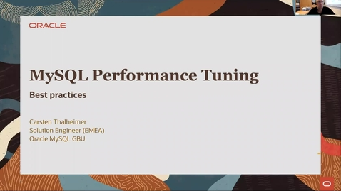 Thumbnail for entry MySQL Best Practices  und Performancetuning
