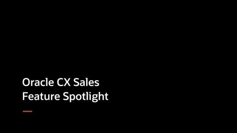 Thumbnail for entry CX Sales Feature Spotlight - Smart Lists