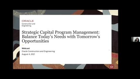 Thumbnail for entry Strategic Capital Program Management: Balance Today's Needs with Tomorrow's Opportunities