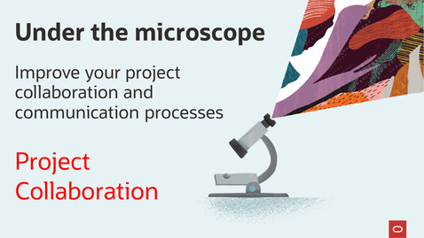 Thumbnail for entry Under the Microscope: Project Collaboration