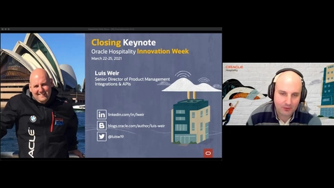 Thumbnail for entry Oracle Hospitality Innovation Week: Closing Keynote