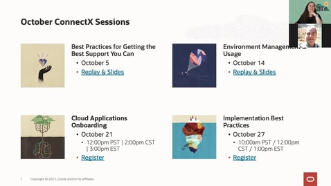 Thumbnail for entry Release Change Planning   Oracle ConnectX 10.20.21