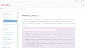 Thumbnail for entry Oracle Data Cloud Taxonomy Manager - INTRODUCTION
