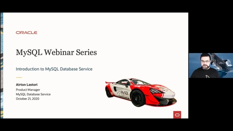 Thumbnail for entry Introduction to MySQL Database Service