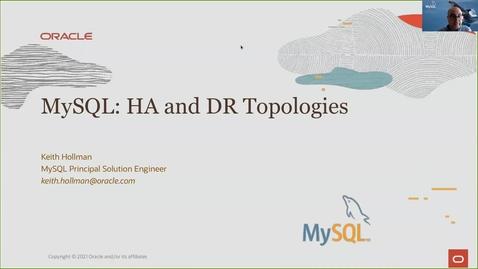 Thumbnail for entry Topologías de Alta Disponibilidad para MySQL