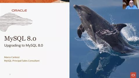 Thumbnail for entry Aggiornamento a MySQL 8