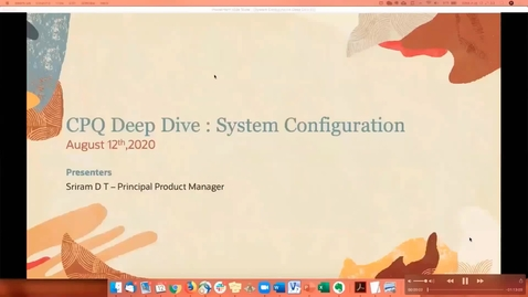 Thumbnail for entry CPQ Deep Dive : System Configuration