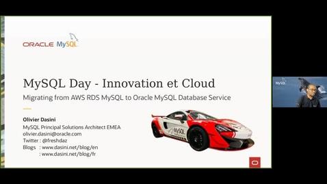 Thumbnail for entry Migrer d'Amazon RDS à MySQL Database Service