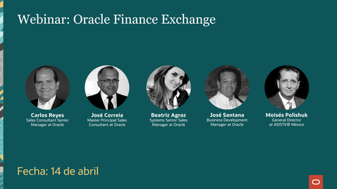 Thumbnail for entry Oracle Finance Exchange 2nd Edition