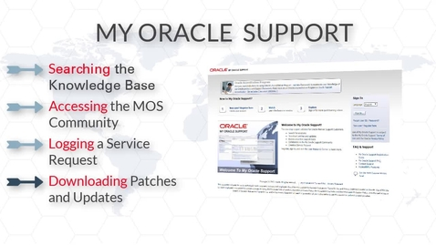 My Oracle Support (MOS) Portal Overview