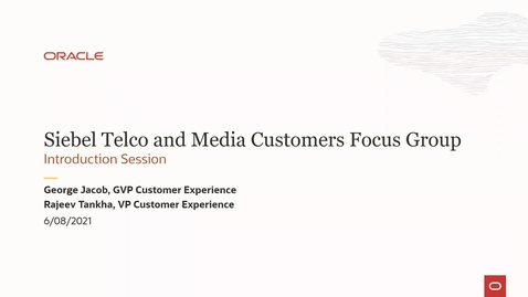 Thumbnail for entry Introduction to Focus Group