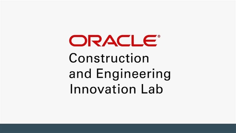 Thumbnail for entry Oracle Construction and Engineering Innovation Lab - German Subtitles
