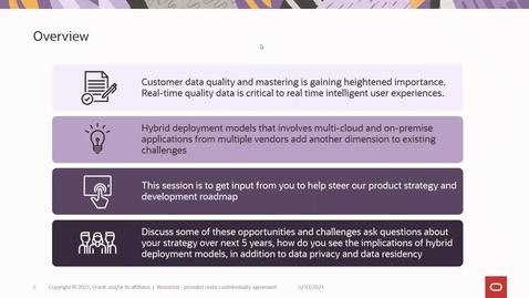 Thumbnail for entry Customer Data Mastering for Siebel & DX4C