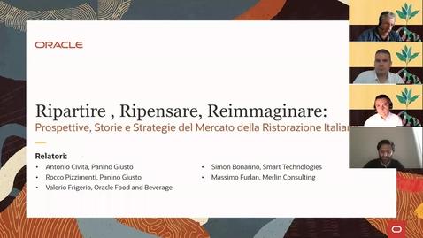 Thumbnail for entry Prospettive, Storie e Strategie Del Mercato Della Ristorazione Italiana con Oracle