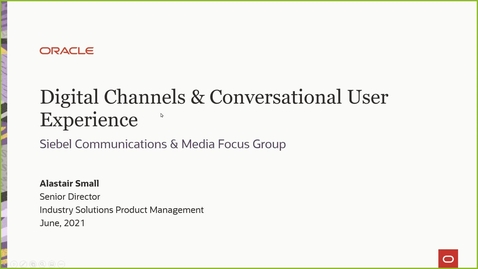 Thumbnail for entry Digital Channels and Conversational User Experience