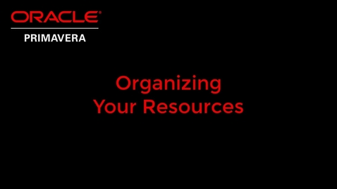 Thumbnail for entry Organizing Your Resources