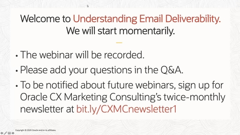 Thumbnail for entry Understanding Email Deliverability: Key Factors & Key Performance Indicators