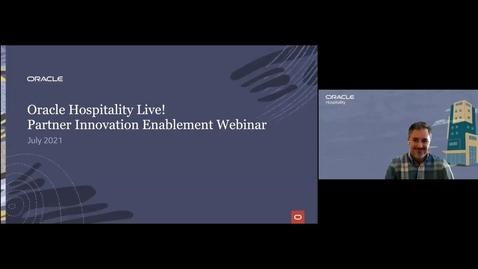 Thumbnail for entry Partner Innovation Enablement Webinar-July, 2021
