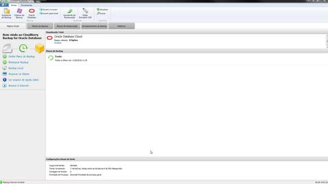 Ligando o CloudBerry Backup com Oracle Storage Cloud Service