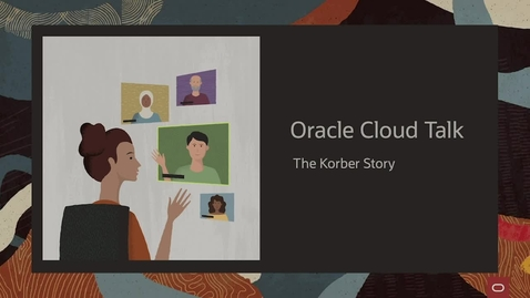 Thumbnail for entry Oracle Cloud Talk - the Körber Story
