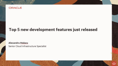 Thumbnail for entry Top 5 new development features just released August 2021 Edition