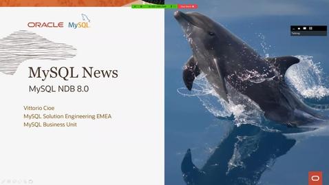 Thumbnail for entry MySQL NDB Cluster (NDB 8.0)