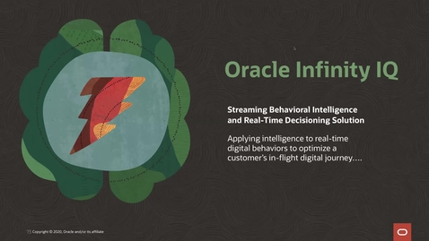 Thumbnail for entry Infinity IQ Demo: Actions for Retargeting