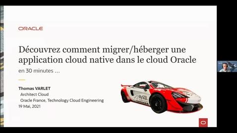 Thumbnail for entry Créer des applications cloud natives